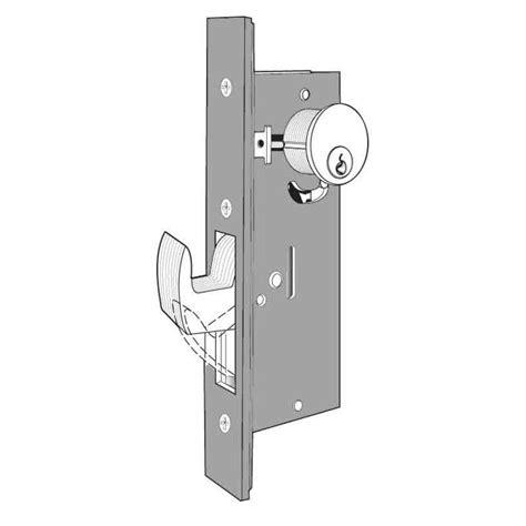Sliding Door Deadbolt Lock 1 1 2 Quot Backset