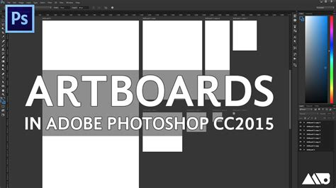 tutorial photoshop yes we can how to create artboards in adobe photoshop cc 2015