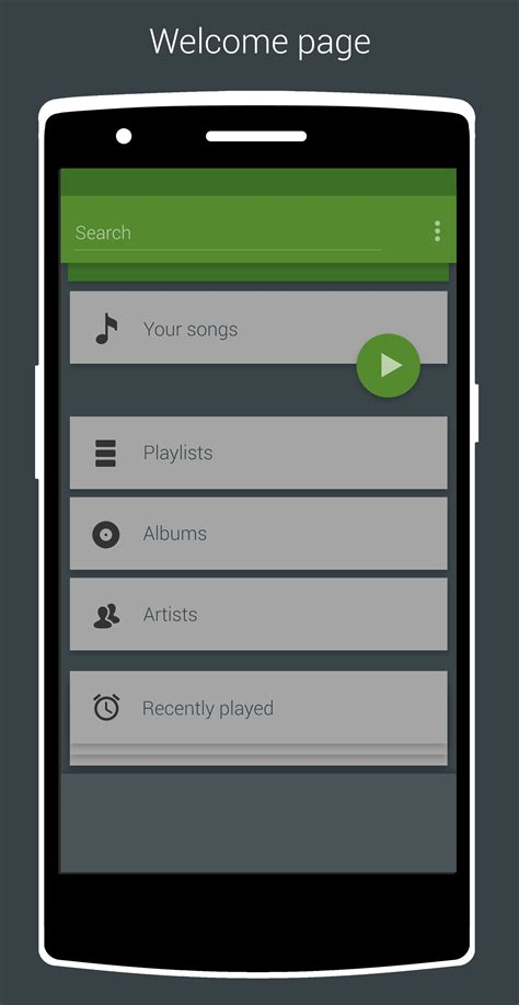 android app ideas redesign the android app to fit the material desig the spotify community