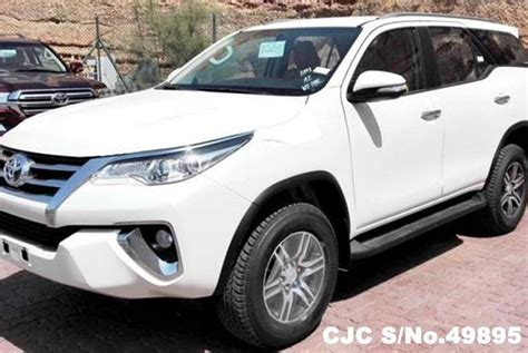 All New Fortuner Air Scoop Colour By Request 2016 left toyota fortuner white for sale stock no 49895 left used cars exporter