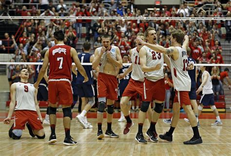 columbus dispatch sports section men s volleyball buckeyes clinch second straight