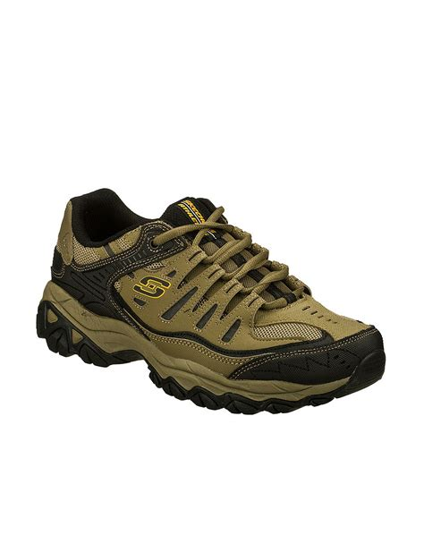 athletic shoe fitting stores skechers 174 afterburn m fit athletic shoes men s stage