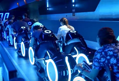 Drink Coaster by Magic Kingdom May Replace Tomorrowland Speedway With Tron