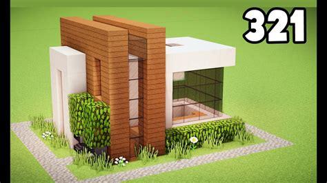 minecraft como construir uma pequena casa moderna - Casa Facil