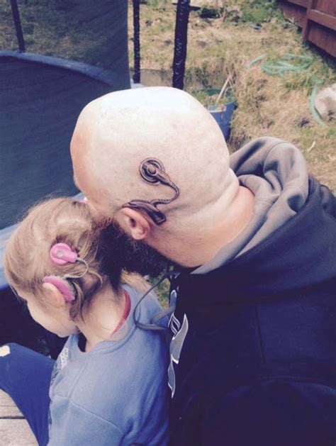 cochlear implant tattoo powerful tattoos barnorama