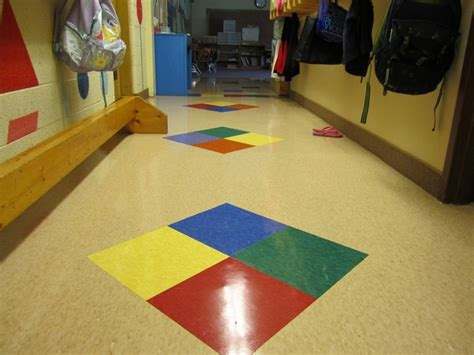 Rubber Flooring For Daycare by Commercial Vct Vinyl Composite Tile In A Daycare