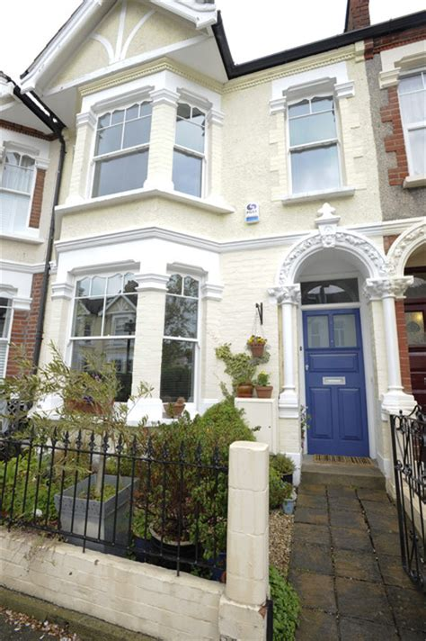 row house color ideas family house in wimbledon traditional exterior