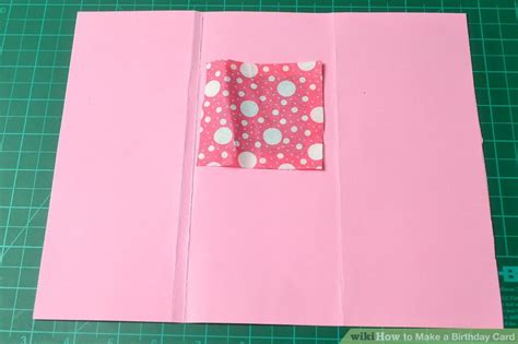 ways to make a birthday card 3 ways to make a birthday card wikihow