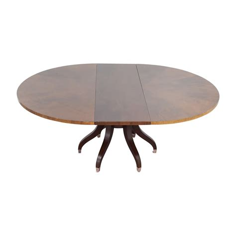 ethan allen table 90 off ethan allen ethan allen ashcroft dining table