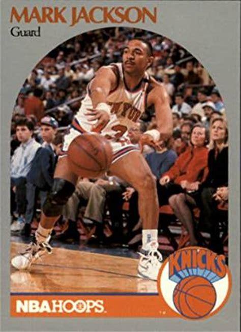 mark jackson hoops 1990 hoops basketball card 1990 91 205 mark