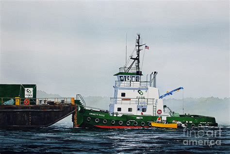 tugboat painting tugboat emmett foss painting by james williamson