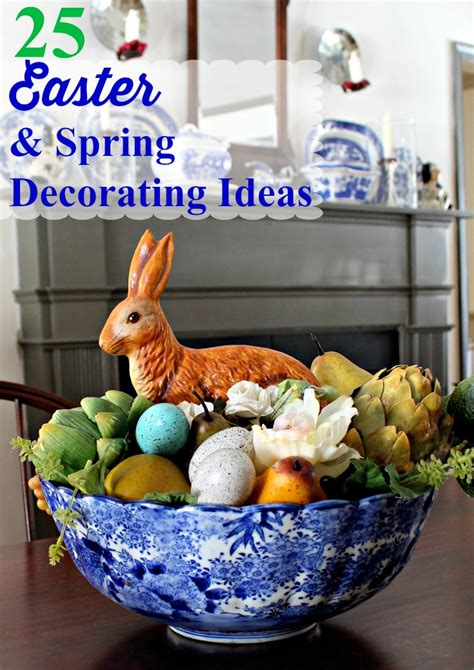 spring  easter decorating ideas vintage american home