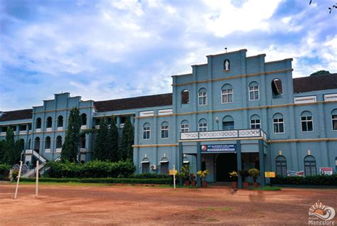 Mangalore Mba Evening College by St Aloysuis Evening College Saec Mangalore Images