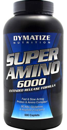 Suplemen Bcaa Termurah Dymatize Amino 6000 500caplets Suplemen Fitness