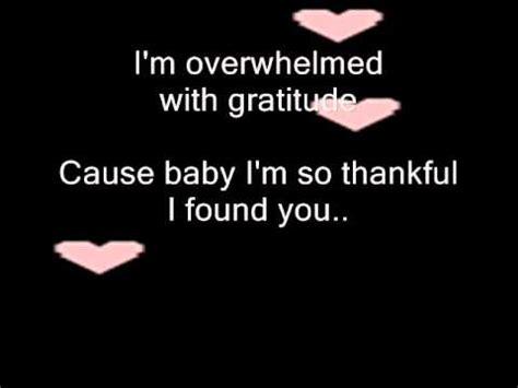 I Found You by Thank God I Found You Carey Lyrics