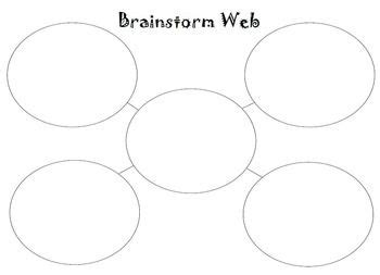 17 Best Images About Writing On Pinterest 2nd Grade Spelling Chronicles Of Narnia And Writing Brainstorming Web Template