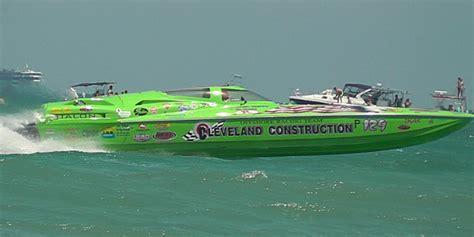 cleveland construction race boat thunder on cocoa beach florida super boat grand prix 5