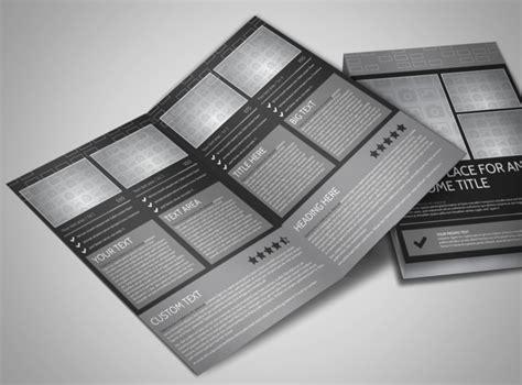 blank bi fold card template blank bi fold brochure template 11381lb