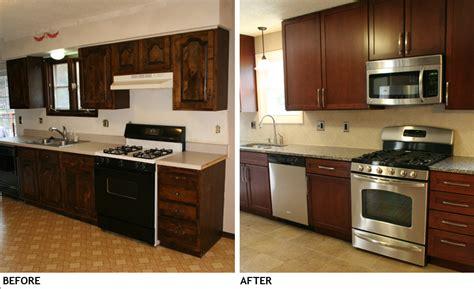 kitchen remodels before and after photos modern kitchens