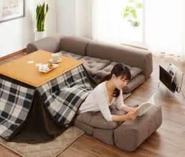 japan tisch kotatsu a traditional japanese floor sofa made modern