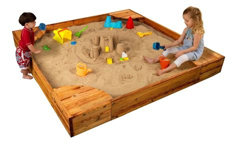 kidcraft backyard sandbox best sandbox with lid for kids