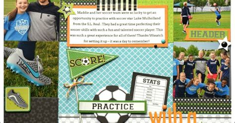 doodlebug goal simply tya doodlebug design goal collection layout