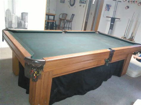 Regulation Pool Table by Letgo Gandy Regulation Eight Foot In Maggie Valley Nc
