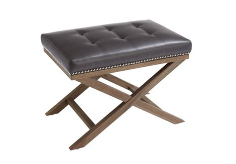 black x bench ottoman chaise rental for home staging by stagers source in toronto