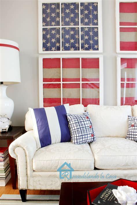 red blue room remodelando la casa red white and blue living room