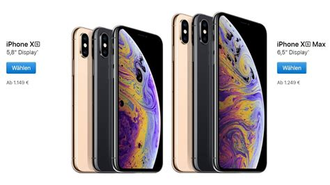 on iphone xs apple iphone xs und iphone xs max neue flaggschiffe vorgestellt alle details
