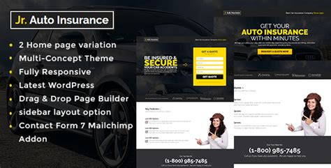 themeforest insurance theme auto insurance wordpress theme nulled download