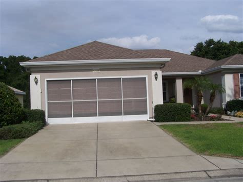 Florida Garage Doors Sliding Garage Door Screens From Killian S Of Palm Coast Fl