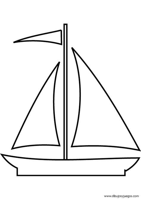barco dibujo simple barcos de vela para colorear imagui
