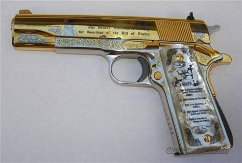 Bonia Stainless Semi gold plated 24 karat nickeled 45 semi auto 19 for sale