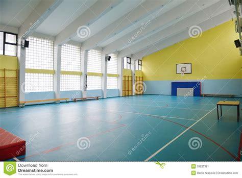 Home Gym Design Download school gym indoor stock photo image 39823391