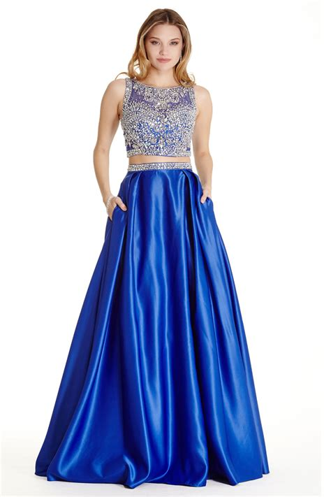 Set Dress 2 two set prom dress apl1689
