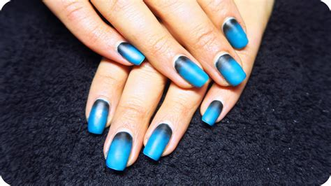 how to do matte gel nails matte ombre nails with gel