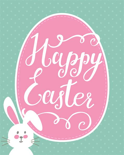 Kitchen Chalkboard Ideas by Happy Easter Bunny Printable Easter Printable Blog Hop