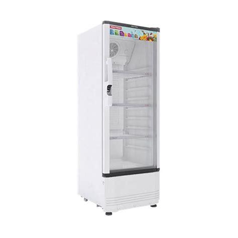 Tutup Freezer Polytron jual rabu cantik polytron scn 181 display cooler