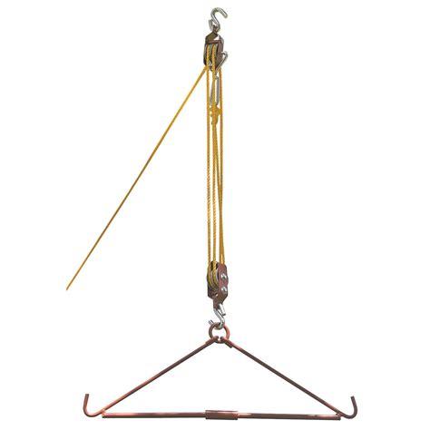 gambrel  pulley hoist