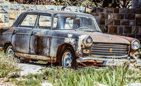old peugeot cars classiccars peugeot 404 old car abandoned rusty instalike