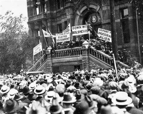 Winnipeg General Strike 1919 Essay by Manitoba History Suppressing The Winnipeg General Strike Paranoia Or Preserving The Peace