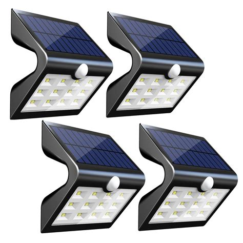 innogear 2nd version 14 led solar lights with rear
