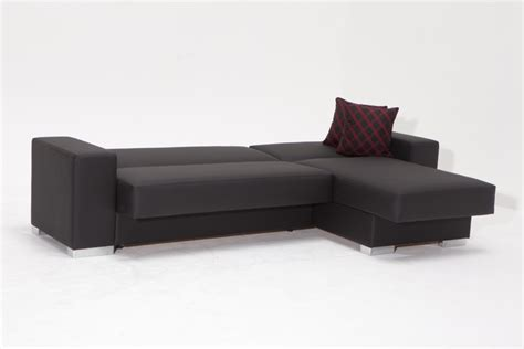 contemporary sleeper sectional modern sectional sofa and cado modern furniture kobe