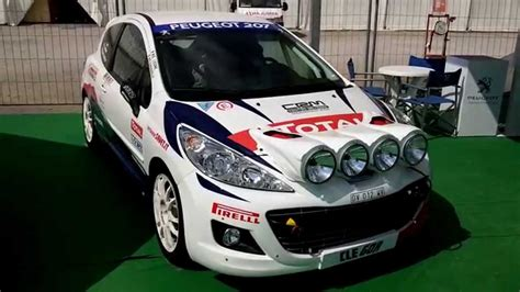 peugeot 207 rally peugeot 207 super 2000 rally car 5 9 2015 youtube