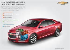 2014 chevrolet malibu eco with a fuel saving stop start