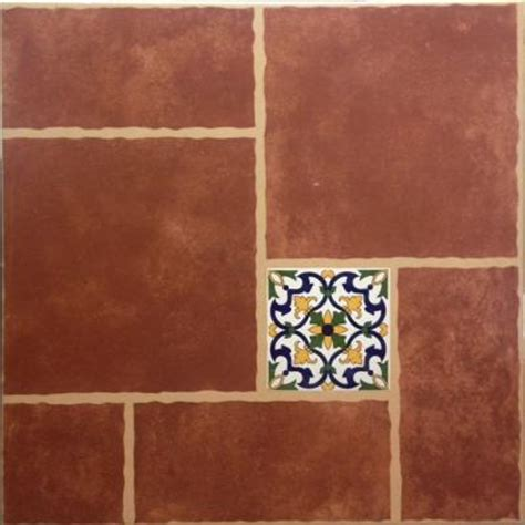 cali rojo 18 in x 18 in ceramic floor tile 15 40 sq ft