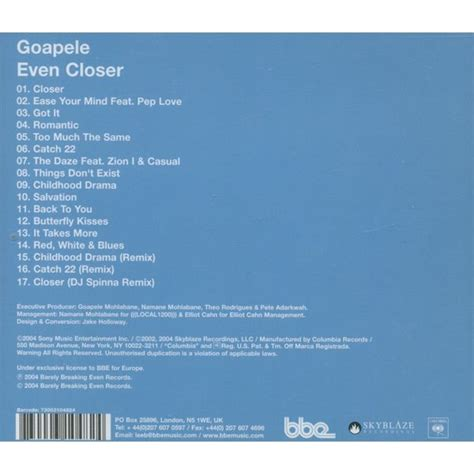 goapele back to you mp3 download even closer goapele free mp3 download full tracklist