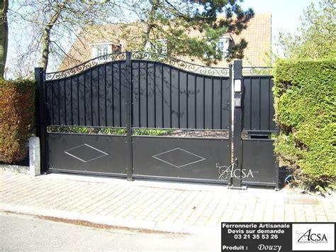 portails de jardin r 233 alisation de portes et portails en fer forg 233