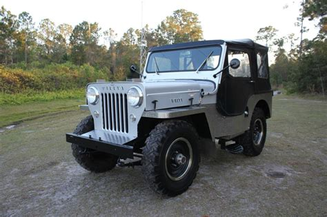 cj jeep for sale 1954 jeep willys cj 3 high hood 2 2l cj3 for sale